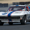 Dan Payne in his #00 1963 Corvette exiting turn ten.