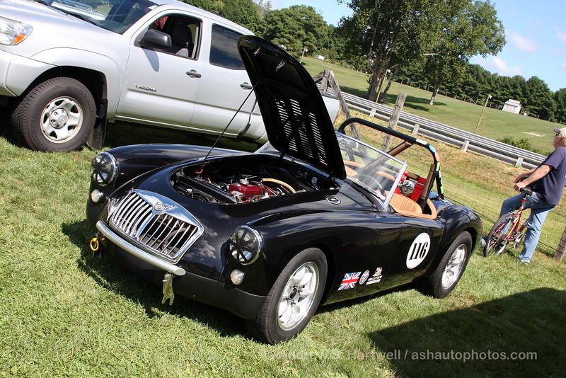 Mike Clifford's 1959 MGA Roadster