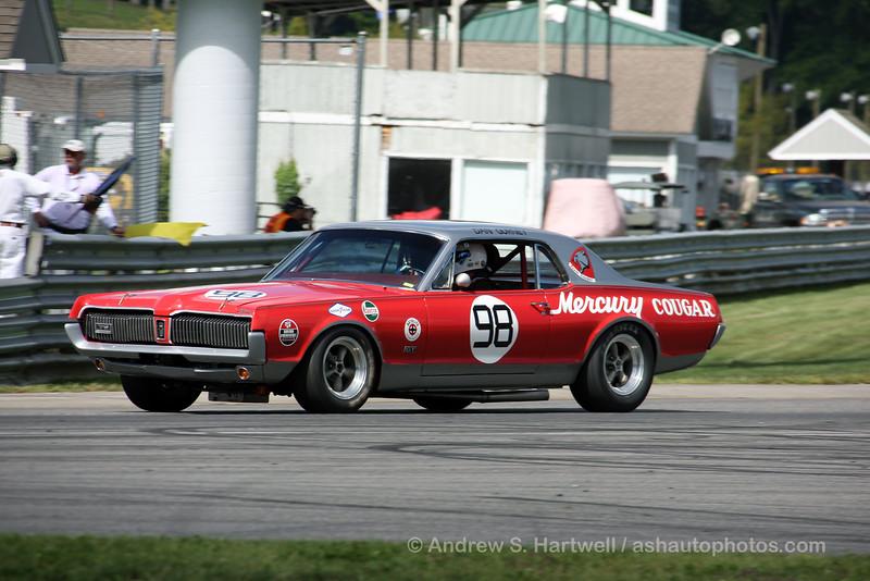1967 Mercury Cougar originally driven by Dan Gurney