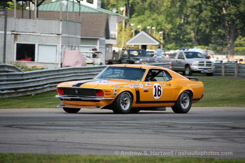 Jim Hague's 1970 Boss 302 Mustang originally driven by George Follmer