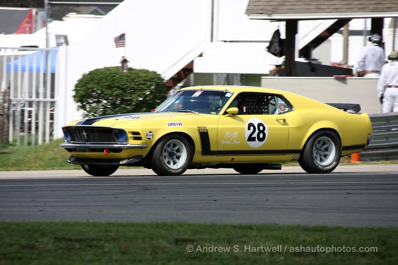Tom Forgione's 1970 Mustang Boss 302