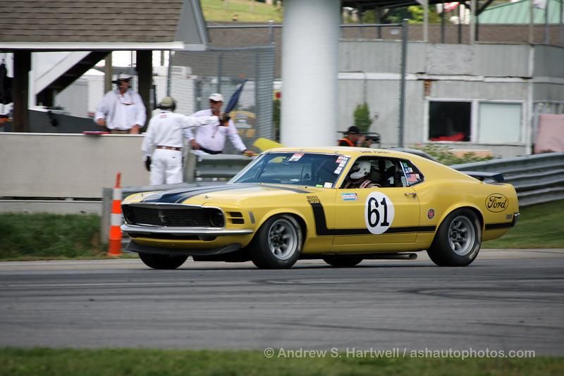Jim Halsey's 1970 Boss 302 FORD Mustang