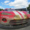 The Viper that won the 2000 Rolex 24 at Daytona left in its original condition at the conclusion of the race