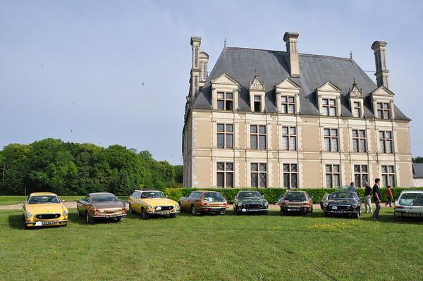 2010-06-11 EScapade naar Blois: 50 jaar Volvo P 1800
