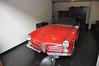 De mooiste auto die tentoongesteld stond: een Alfa cabrio.