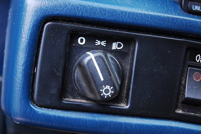 Headlight switch.