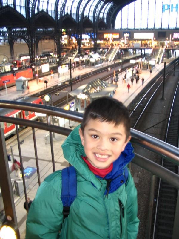 Haupt Bahn Hof in Frankfurt