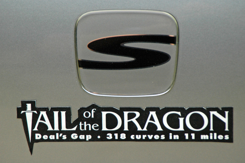The Tail of the Dragon, known on road maps as Highway 129, is the stuff of sports-car dreams----318 curves on an 11-mile stretch of road with no houses, business, side roads or driveways. It's just you, huge elevation changes and the occasional 75-ft. drop-off to contend with.