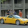 This NSX is made by Honda. One of 114 yellow's made. One of 7 with yellow upholstry along with black. Car guy's and girl's know stuff like this.