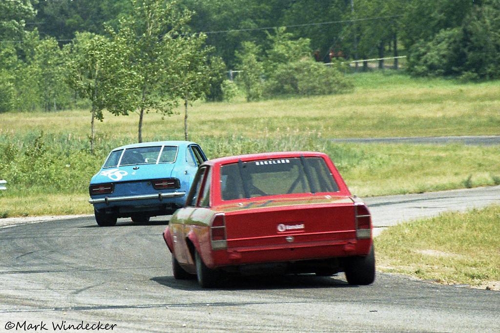 GT4-#48-Dave Dorby Corolla #11-Jerry Morlewski Fiat
