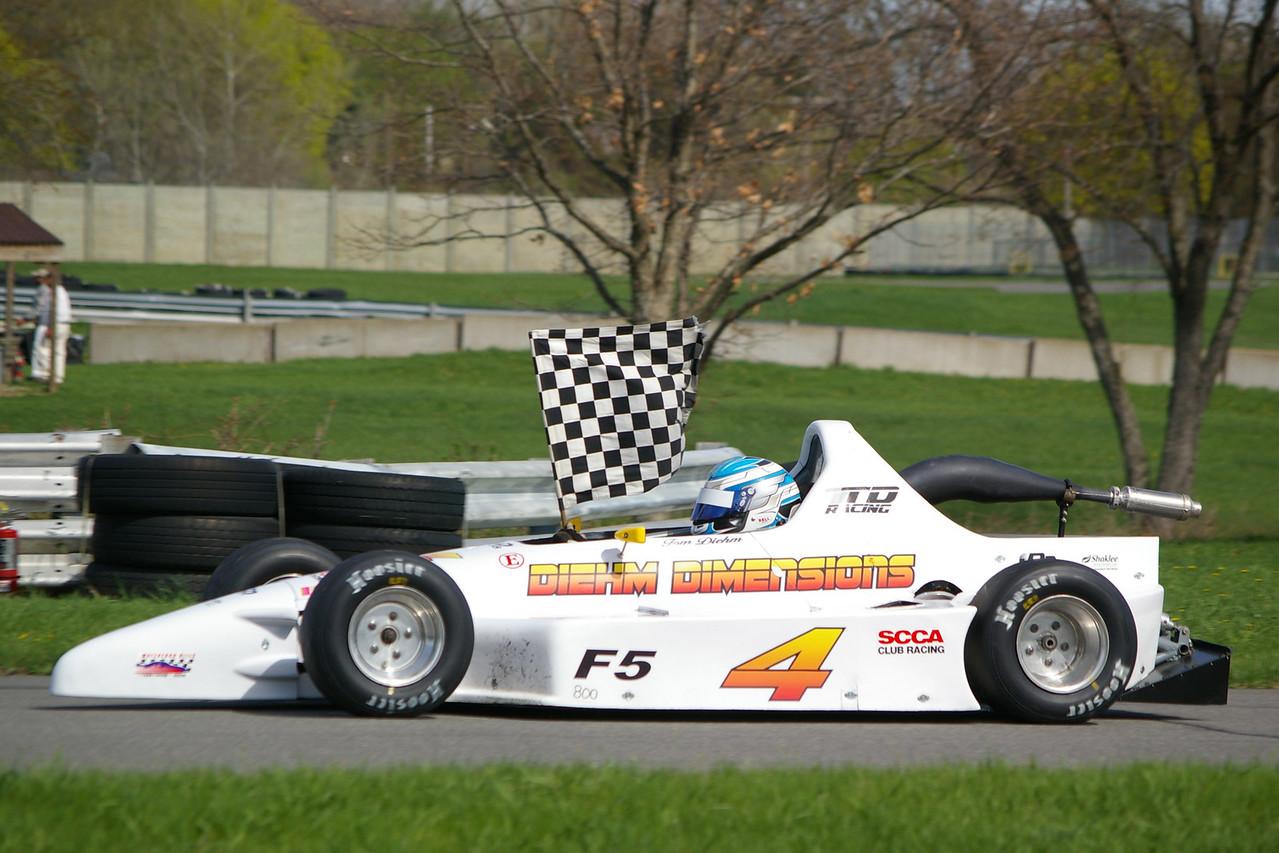 1st F/500 Tom Diehm
