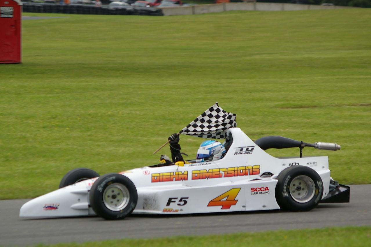 F500-TOM DIEHM QUALIFYING RACE