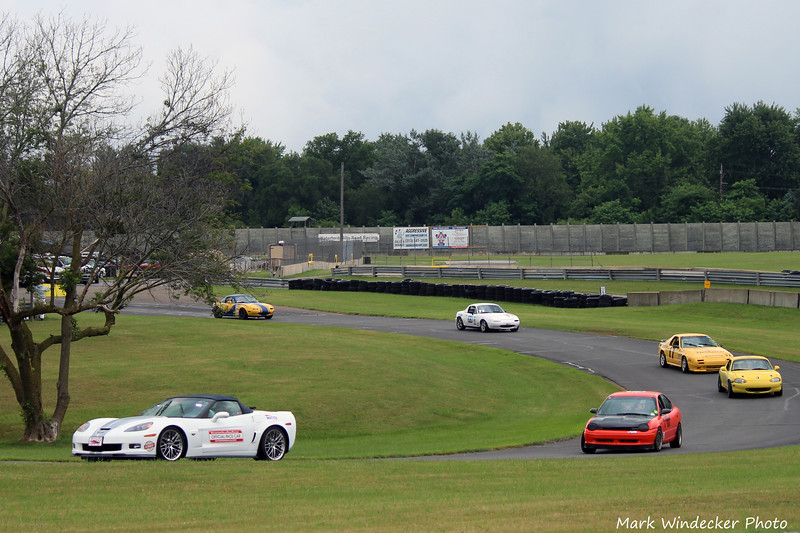 Saturday Pace Lap......
