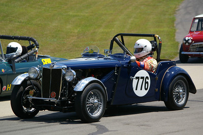 Manley Ford 1952 MG TD
