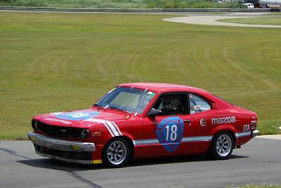 Tim Pavin 72 Mazda RX3
