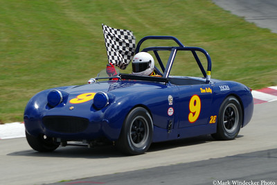1a Don Kelly  1961 Austin Healey Sprite
