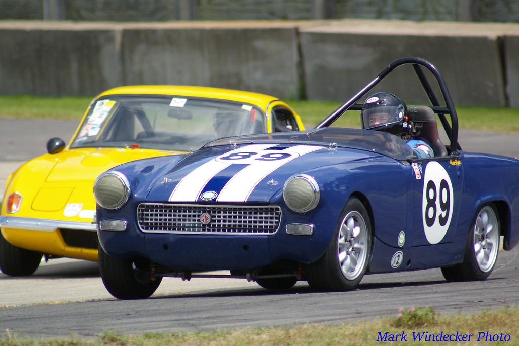 Nick Pratt   1965 MG Midget