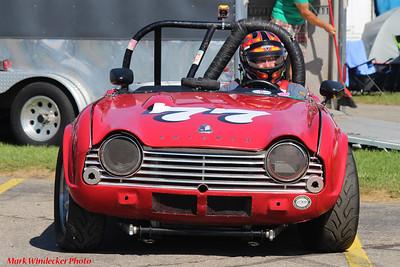 Michael Deweerd 1962 Triumph TR4