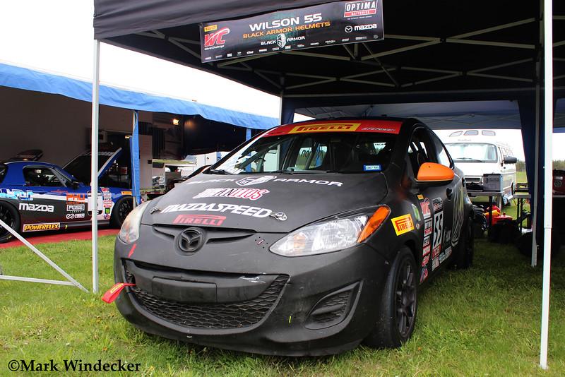 TCB Black Armor Helmets /Mazda 2