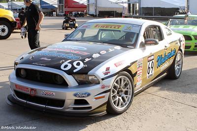 GTS Capaldi Racing Mustang  Boss 302