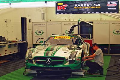 GT-A Black Swan Racing Mercedes AMG SLS GT3