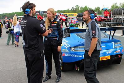 Christina Nielsen TRG Aston Martin Vantage GT3