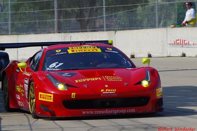 2nd Olivier Beretta Ferrari 458 GT3 Italia