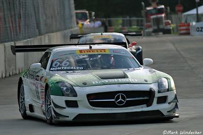 16th (7th GTA) Frank Montecalvo Mercedes Benz AMG SLS GT3