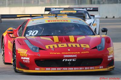 8th (1st GTA) Henrique Cisneros Ferrari 458 GT3 Italia