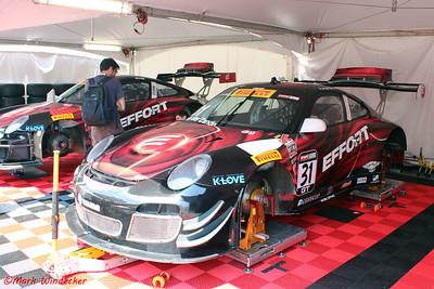 EFFORT Racing/ Curb-Agajanian/Porsche 911 GT3R