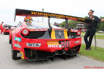 MOMO/NGT Motorsport Ferrari 458 GT3 Italia