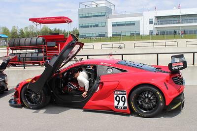 Gainsco/Bob Stallings Racing McLaren 650S GT3