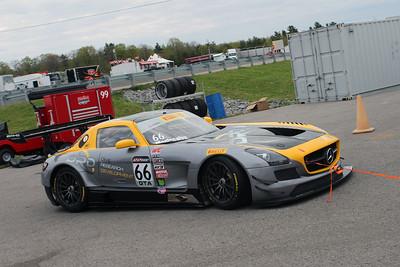 DIME Racing Mercedes AMG SLS GT3