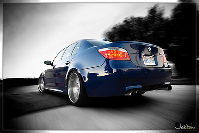 Wes's M5 on the rig (08.17.10)