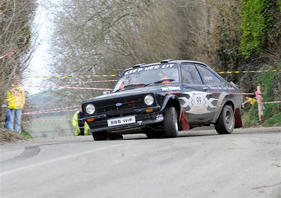 West Cork Rally 2010, car no.99 Escort Mk2, Driver:Colin Kingston,   Navigator:Jonathan Jennings, from Skibbereen