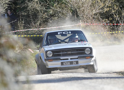 West Cork Rally, car No.30 Escort Mk2, Driver:Fintan Canty, Navigator:Denis O'Mahony, from Ballineen. Picture taken on Sunday 21st at  Hayes's Cross Stage 14