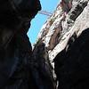 Walking bridge over Box Canyon in Ouray, Colorado