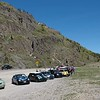 Another break between Silverton and Durango, Colorado.