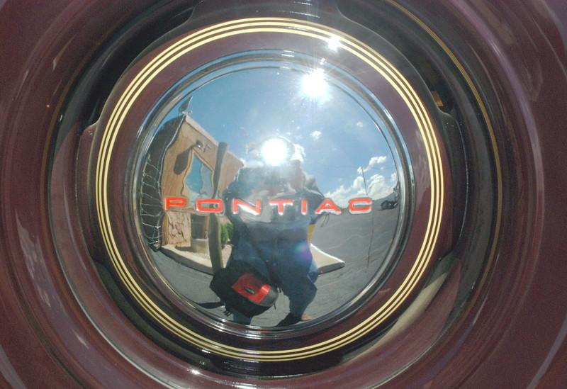 Pontiac woodie Hercules body wheel