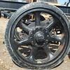 Utility trailer wheel