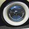 Kaiser 1954 Darrin Sports Car wheel