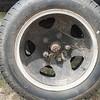 Ford 1929 Model AA wheel rear