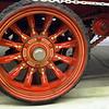 Ahrens Fox 1924 Type 40 Chemical Car rear wheel
