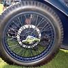 MG 1934 J2 Midget wheel