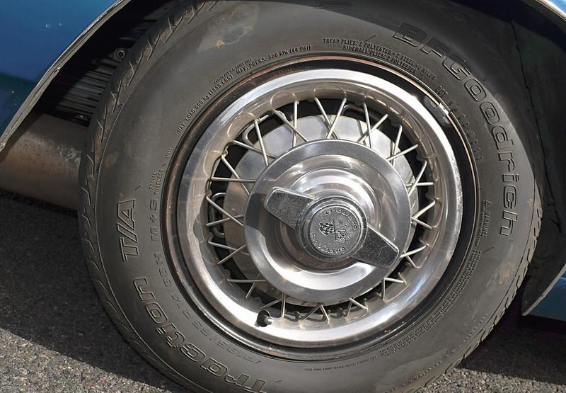 Chevrolet 1966 Corvair Corsa wheel