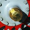 Renault 1907 Vanderbilt Racer wheel hub detail