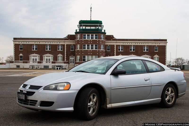 New York - At the old terminal at Floyd Bennett Field, March 2014