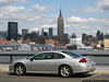 New Jersey - Frank Sinatra Drive in Hoboken, overlooking the Hudson River and Midtown Manhattan.