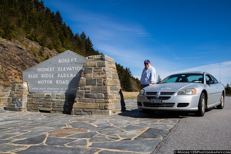 North Carolina - To the top of the Blue Ridge Parkway