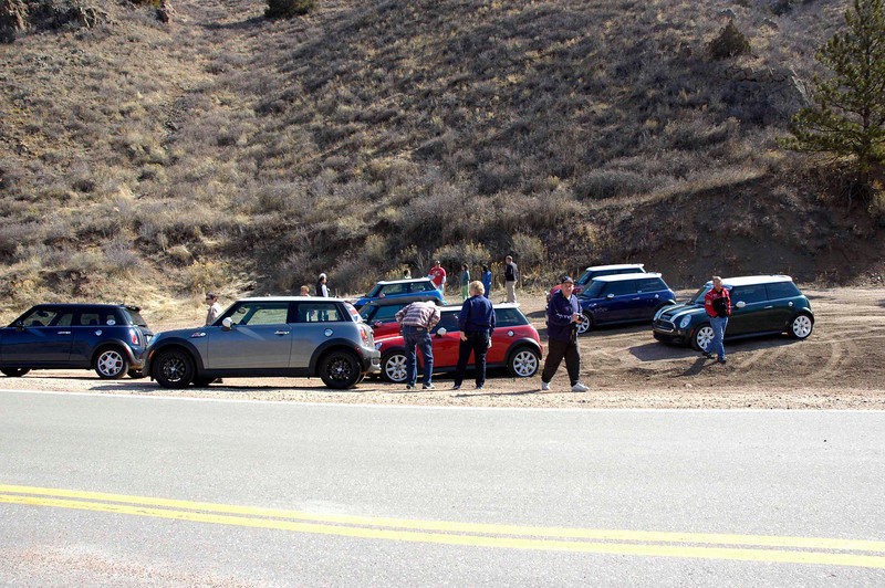 Quick break at the intersection of Hwy 27 and 14.